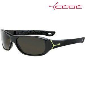 法国Cebe太阳镜 儿童偏光太阳镜 SPicy系列 CBSPICY1 闪亮黑色款 7-10岁