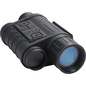 美国博士能bushnell 260140  红外微光数码拍照录像昼夜两用变倍夜视仪  5-13.5倍放大